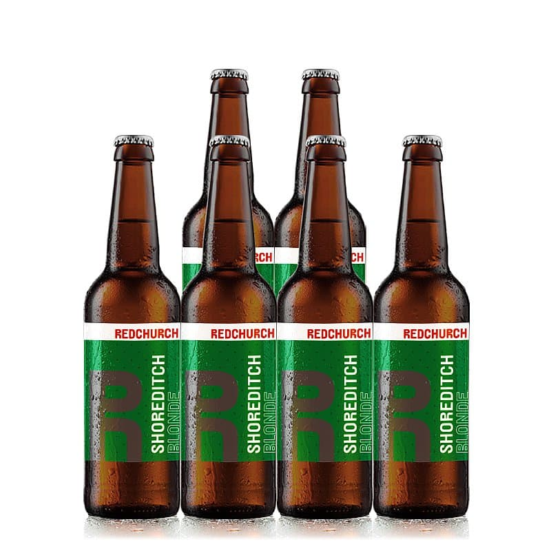 Shoreditch Blonde 6 Case by Redchurch Brewery