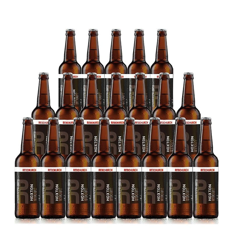 Hoxton Stout 20 Case by Redchurch Brewery