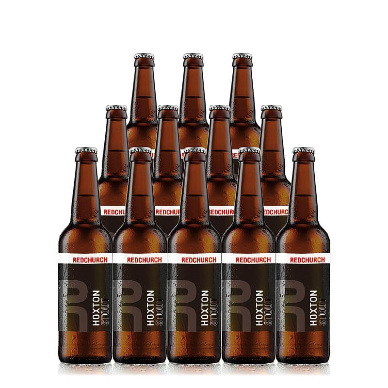 Hoxton Stout 12 Case by Redchurch Brewery