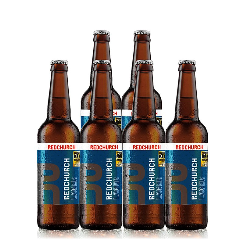 Lager 6 Case by Redchurch Brewery