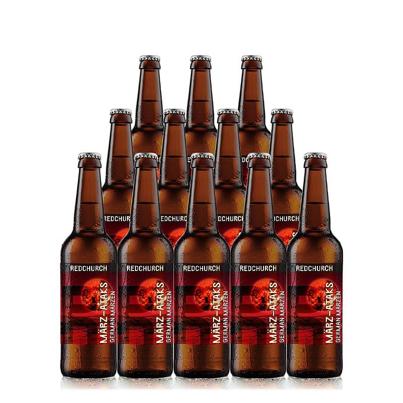 Marz-Ataks 12 Case by Redchurch Brewery