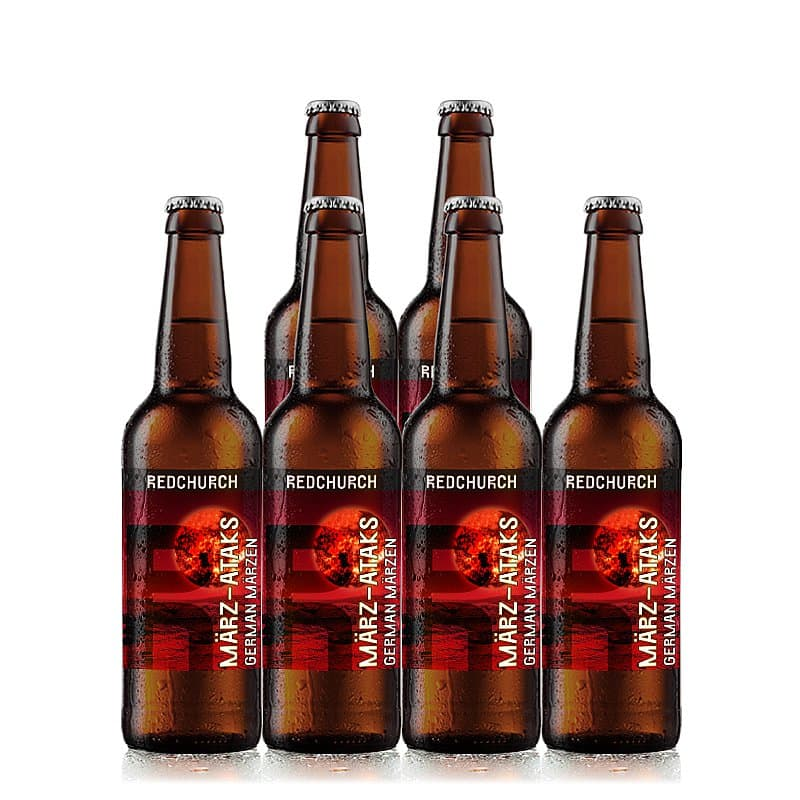 Marz-Ataks 6 Case by Redchurch Brewery