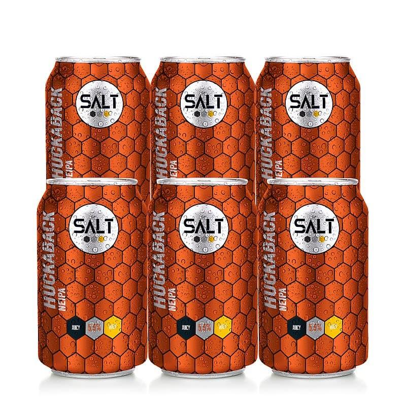 Huckaback NEIPA 6 Case by Salt Beer Factory