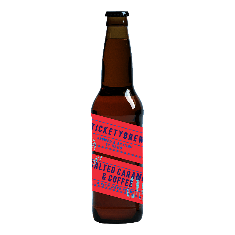 Salted Caramel Coffee Stout by Ticketybrew