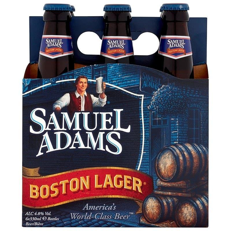 Samuel Adams Boston Lager by Shepherd Nearne