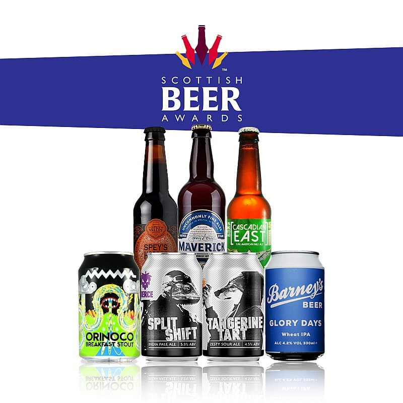 Scottish Beer Awards Box by Flavourly