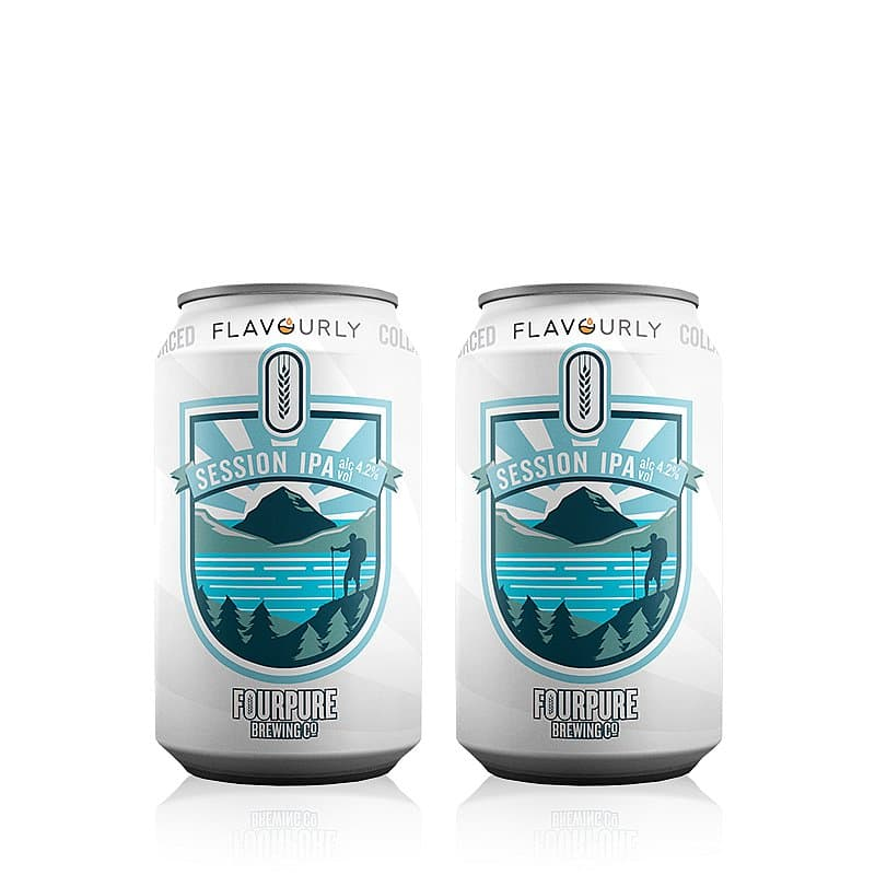 Session IPA Twin Pack by Fourpure x Flavourly