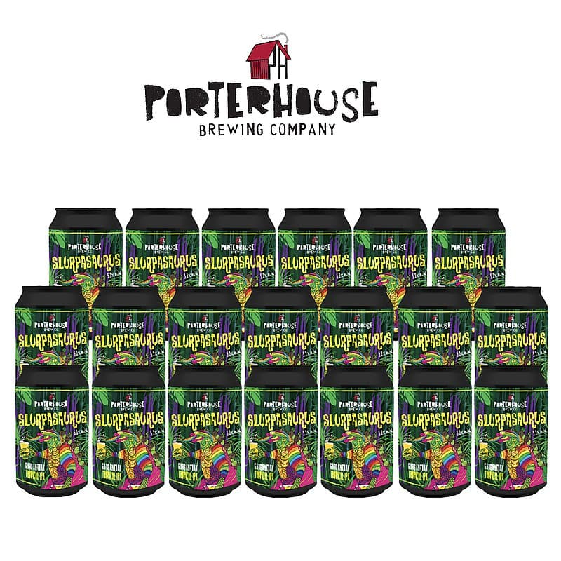 Slurpasaurus IPA 20 Case by Porterhouse Brewing Co.