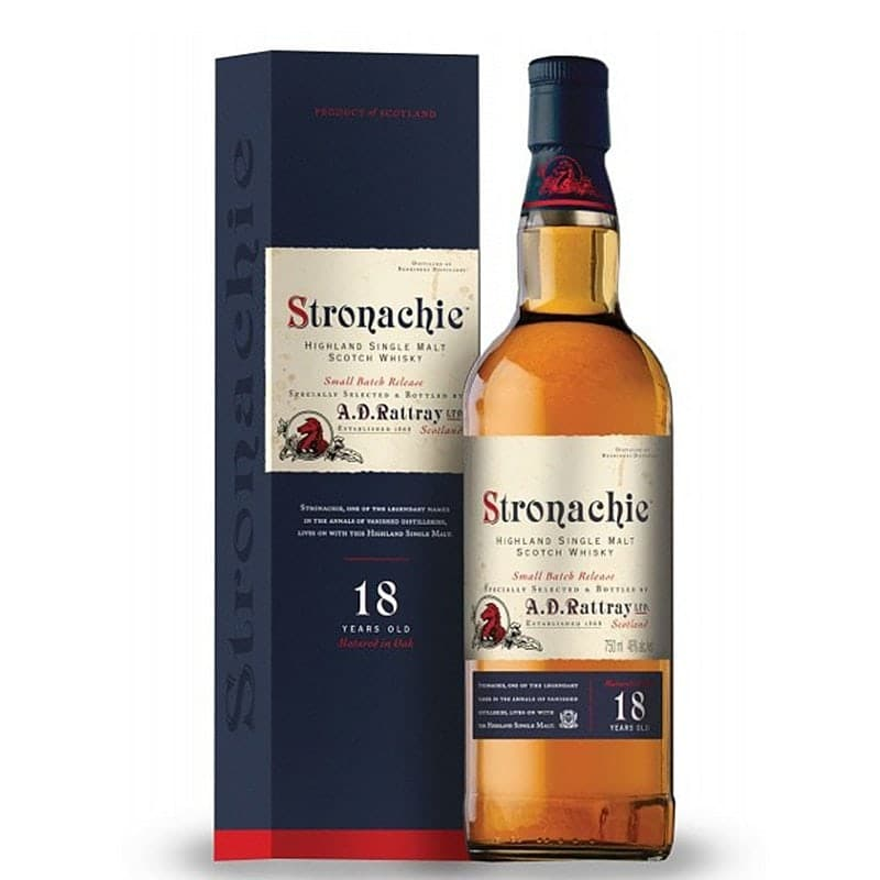 Stronachie 18 Y.O. Malt Whisky