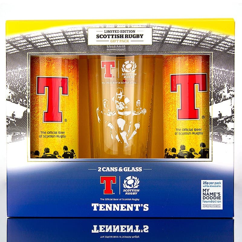 Scottish Rugby Union Gift Pack by Tennent's