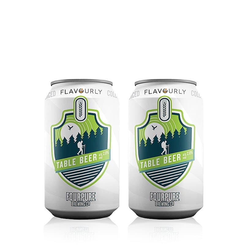 Table Beer Twin Pack by Fourpure x Flavourly