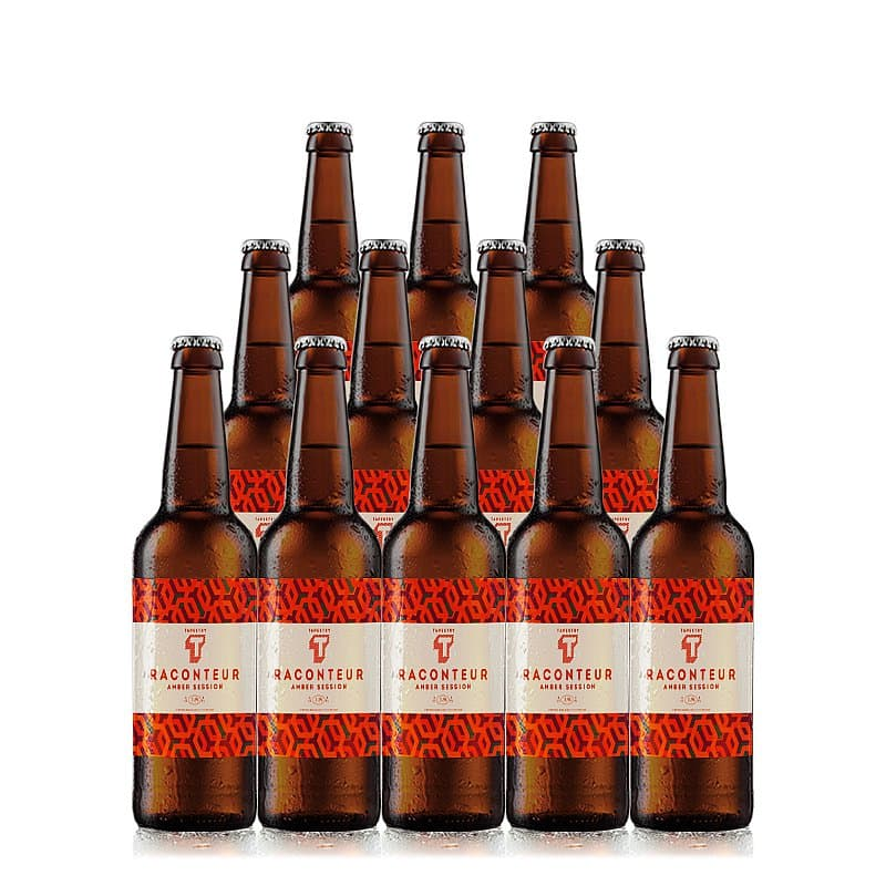 Amber Session 12 Case by Tapestry Brewery
