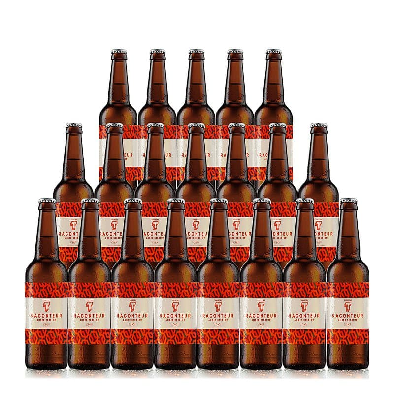 Amber Session 20 Case by Tapestry Brewery