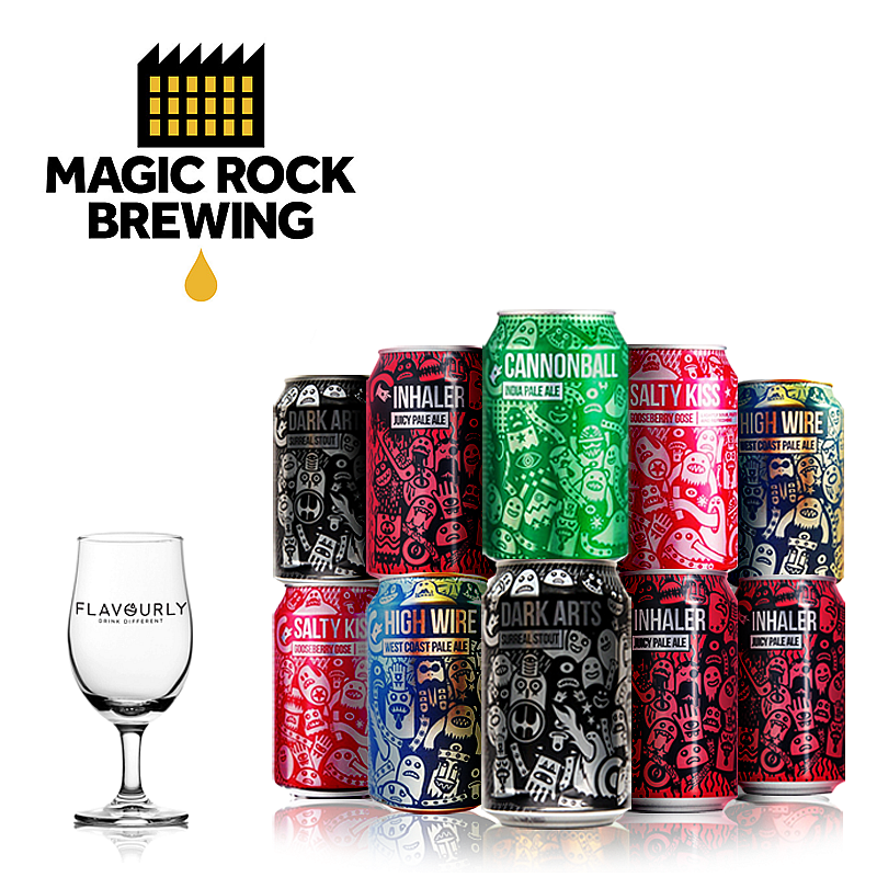 The Magic Rock Collection by Magic Rock Brewing