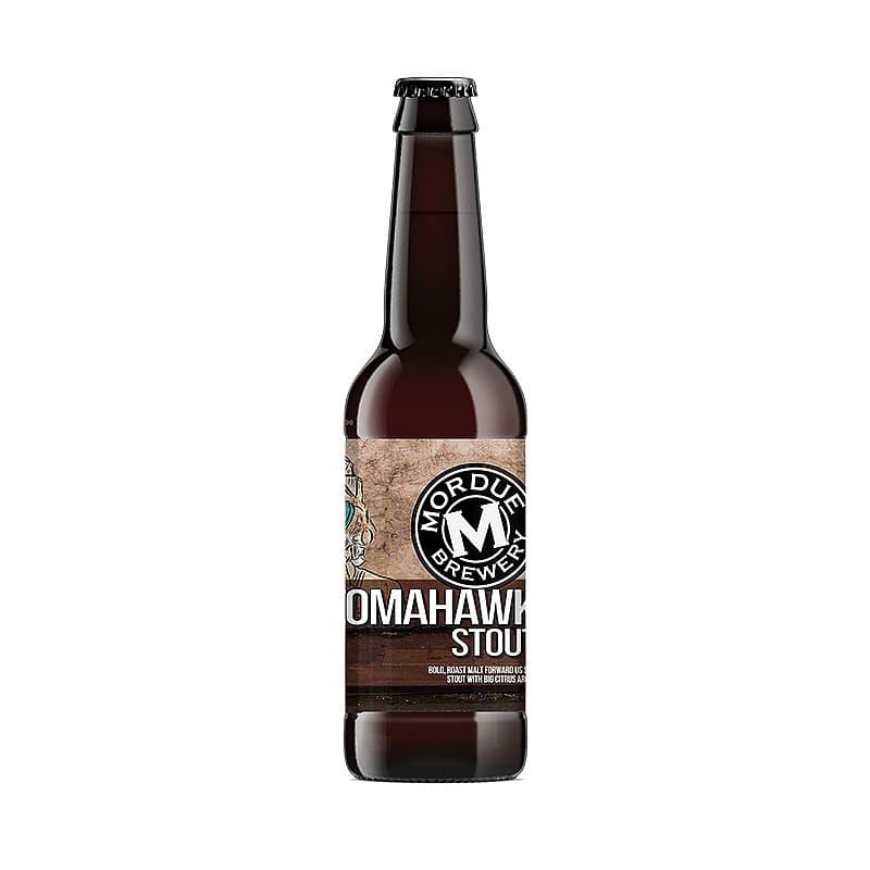 Tomahawk Stout by Mordue Brewery