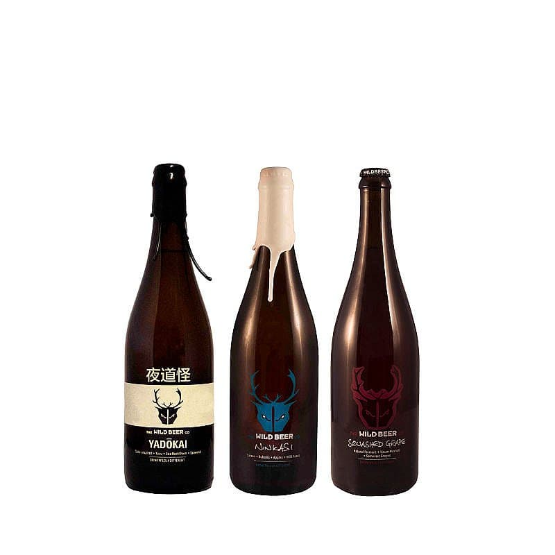 Mixed 3 Sharing Bottle Case by Wild Beer Co