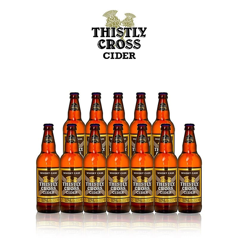Whisky Cask Cider 12 Case by Thistly Cross