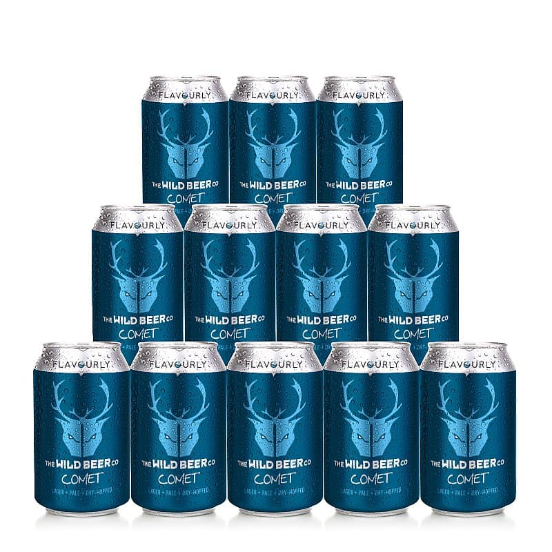 Comet 12 Case by Wild Beer Co X Flavourly
