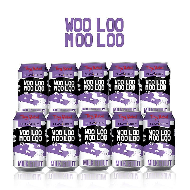 Woo Loo Moo Loo 10 Case by Tiny Rebel x Flavourly