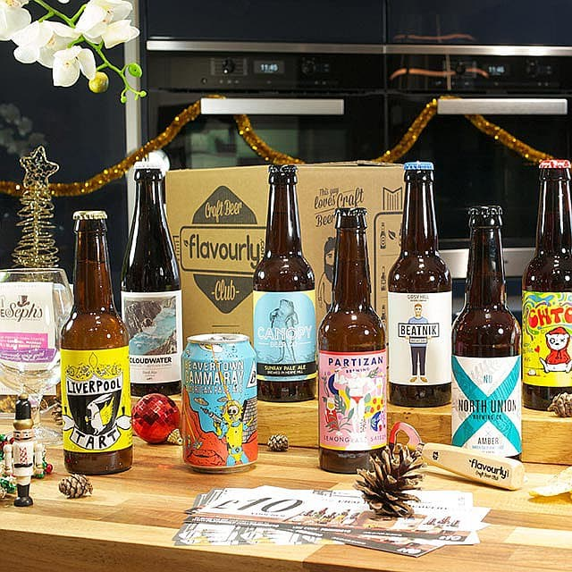 Xmas Mixed Craft Beer Box by Flavourly