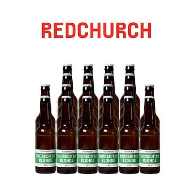 Shoreditch Blonde 20 Case by Redchurch Brewery
