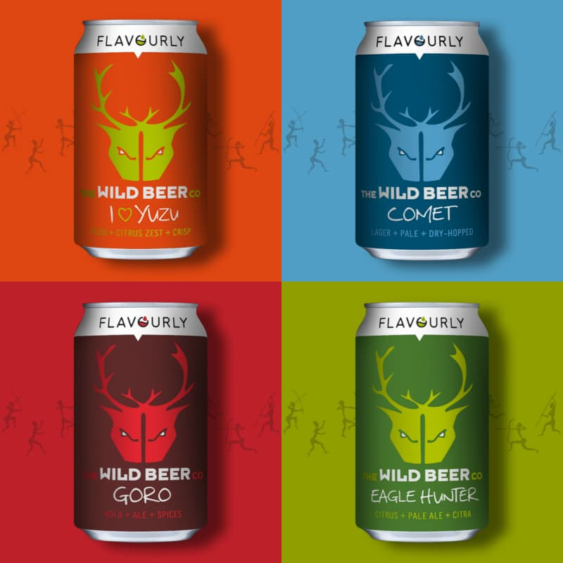 Wild Beer Co X Flavourly