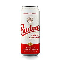 500ml Budvar Original by Budweiser Budvar