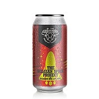 Belgium Space Project Can by By the Horns Brewing