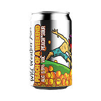 Peach of a Weekend by Wild Weather Ales