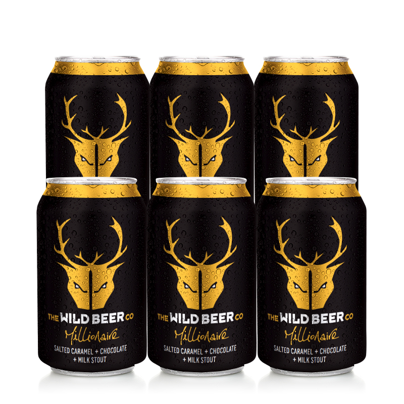 Millionaire 6 Case by Wild Beer Co
