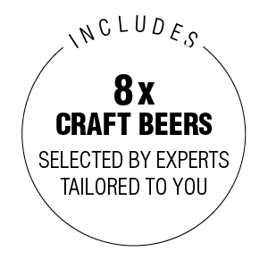Includes 8x Craft Beers, Monthly